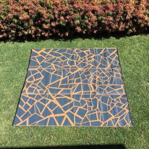 2.7m x 2.7m (9ft x 9ft) SQUARE Mats – Perfect for Decks and Gazebos – FREE POST